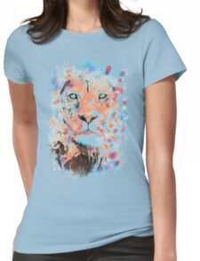 THE LION WHISPERER Womens Fitted T-Shirt