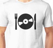Vinyl DJ menu Unisex T-Shirt