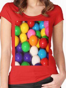 Gumballs Women's Fitted Scoop T-Shirt