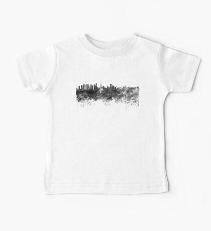 Belem skyline in black watercolor Baby Tee