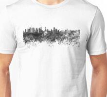 Belem skyline in black watercolor Unisex T-Shirt