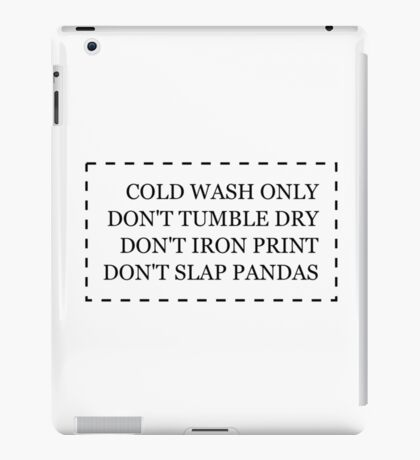 Redbubble Tag iPad Case/Skin