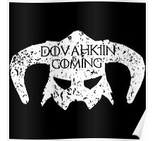 Dovahkiin is Coming Poster