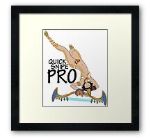 Neith- Quick Snipe Pro! Framed Print