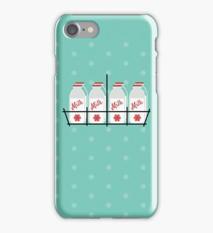 8 Maids a Milking iPhone Case/Skin