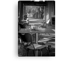 Cafe' Culture Canvas Print