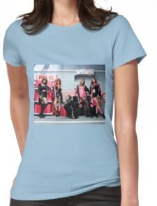 EXID hot pink Womens Fitted T-Shirt