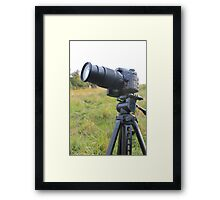 Nikon DSLR  Framed Print