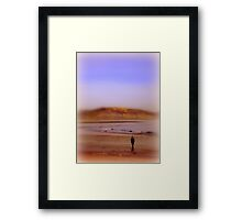 The Sound of The Sea Framed Print