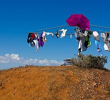 I think that the locals lost their football final. South Australia. by johnrf