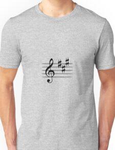 key signatiure Unisex T-Shirt