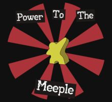 Power To The Meeple One Piece - Short Sleeve