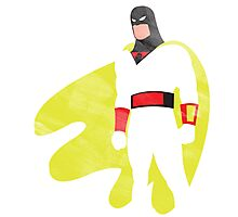 Project Silhouette 2.0: Space Ghost Photographic Print