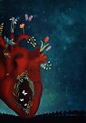 night flower heart by Sybille Sterk