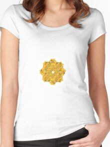 A Ring of Daffodils Women's Fitted Scoop T-Shirt