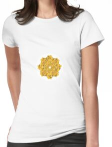 A Ring of Daffodils Womens Fitted T-Shirt