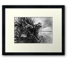 Ancient Shadow Unbound Framed Print