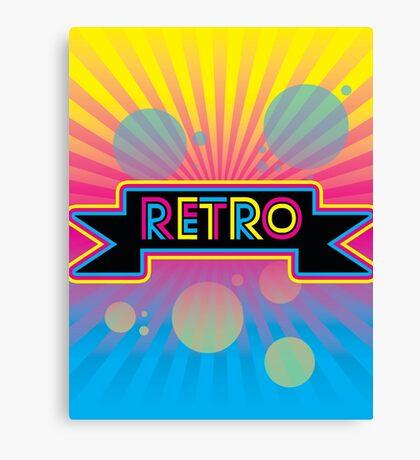 Retro! Canvas Print