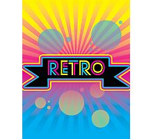 Retro! Photographic Print