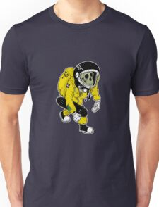 Skate Monkey Space Unisex T-Shirt