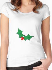holly Women's Fitted Scoop T-Shirt