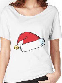 santa hat Women's Relaxed Fit T-Shirt
