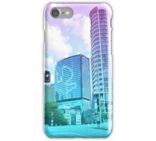 Pastel Brisbane City - Brisbane River Tower iPhone Case/Skin