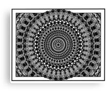 Circular Oblivion Canvas Print