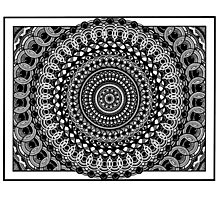 Circular Oblivion Photographic Print