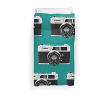 Point and Shoot Duvet Cover