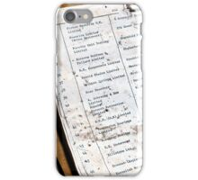 MUSIC FACTORY COLUMBIA 5146 2009 GREECE iPhone Case/Skin