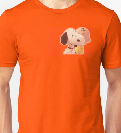 Snoopy, happy dog Unisex T-Shirt