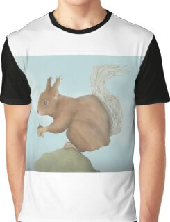 Twig Tailed Squirrel Graphic T-Shirt