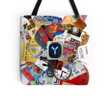 Back to the Future Trilogy MIX (saturated version) Tote Bag