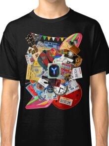 Back to the Future Trilogy MIX (saturated version) Classic T-Shirt