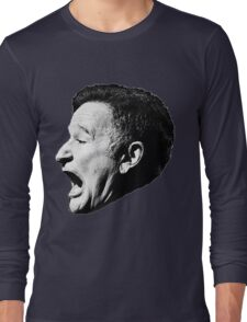 Robin Williams funny scream Long Sleeve T-Shirt