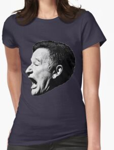 Robin Williams funny scream Womens Fitted T-Shirt