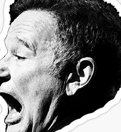 Robin Williams funny scream Sticker