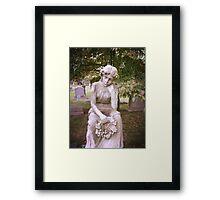 Greenwood Cemetery Memorial Framed Print
