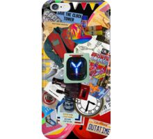 Back to the Future Trilogy MIX (saturated version) iPhone Case/Skin