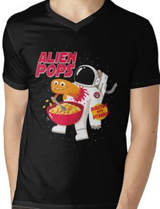 Alien Pops Mens V-Neck T-Shirt