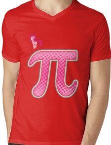 Fly Bye Pinkie Pi Mens V-Neck T-Shirt