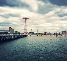 Coney Island Rides, Brooklyn by Lagoldberg28