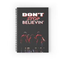 Don't Stop Believin' - Glee Spiral Notebook