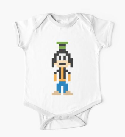 Goofy 8-Bit One Piece - Short Sleeve