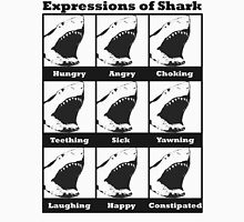 Expressions of Shark Unisex T-Shirt