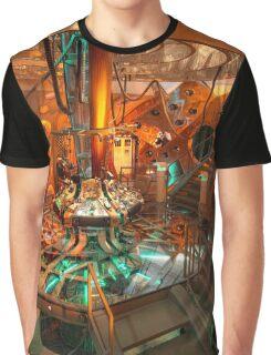 Inside the Tardis Graphic T-Shirt