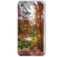 Autumn Colors in the English Garden iPhone Case/Skin
