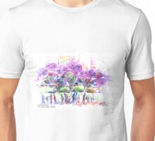 Jacaranda at Circular Quay Unisex T-Shirt