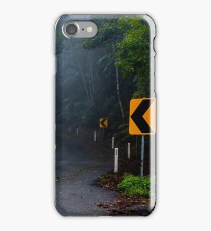 In the Clouds on Mount Glorious Road iPhone Case/Skin